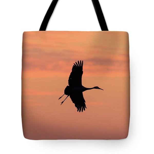 Horicon Marsh Cranes #3 Tote Bag