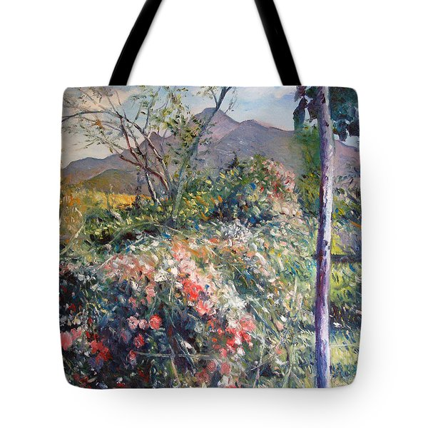 Horingberg Horn Mountain Eastern Cape South Africa Tote Bag by Enver Larney