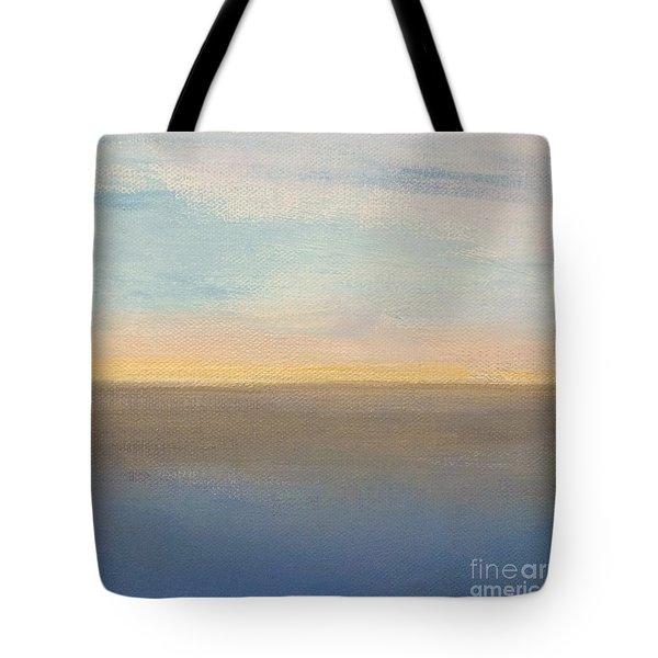 Horizon Aglow Tote Bag