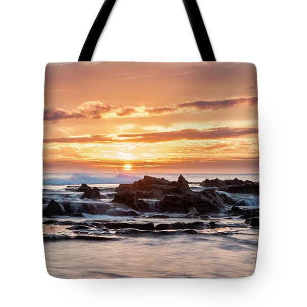 Horizon In Paradise Tote Bag by Heather Applegate