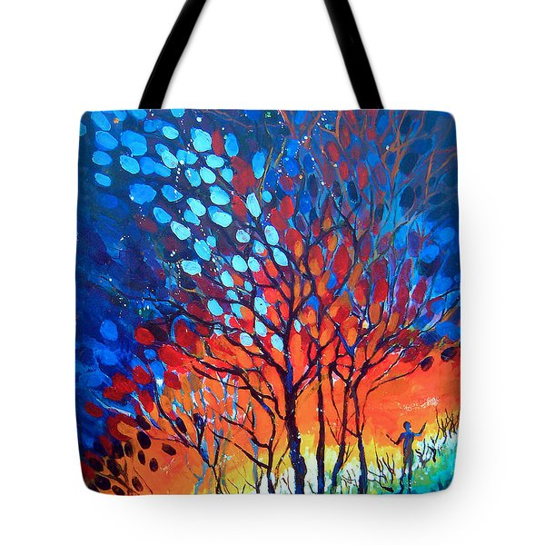 Horizons Tote Bag by Linda Shackelford
