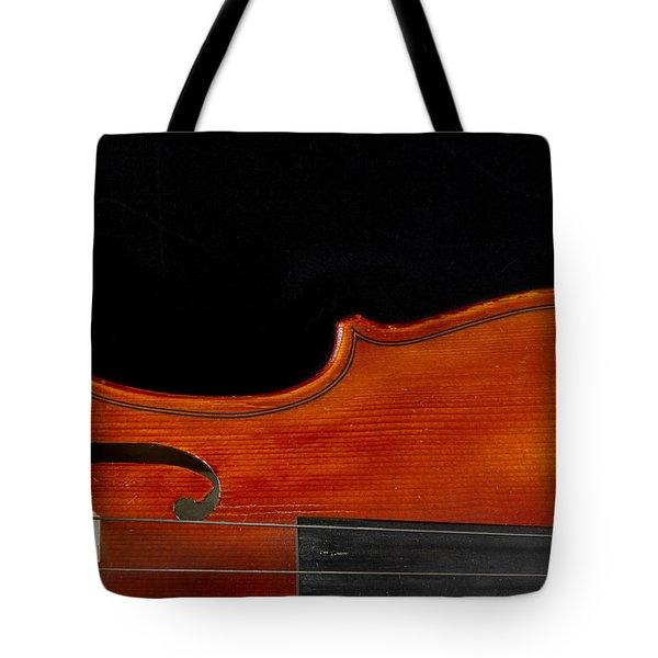 Horizontal Violin Art Tote Bag