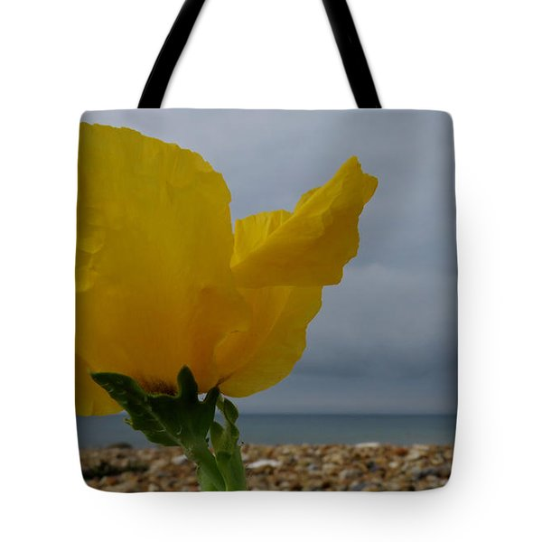 Horned Poppy By The Sea Tote Bag