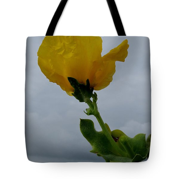 Horned Poppy Tote Bag