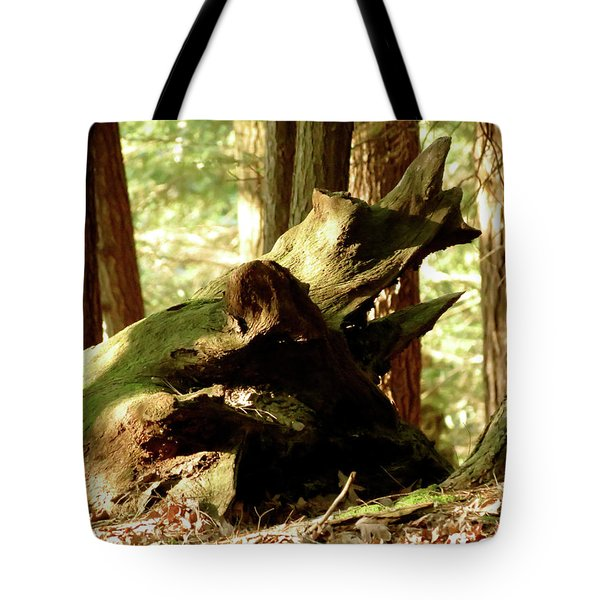Horned Tree Tote Bag