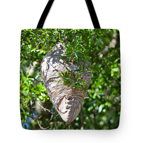 Tote Bag featuring the photograph Hornets Home by Al Powell Photography USA