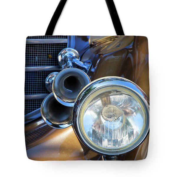 Horns And Headlight Tote Bag