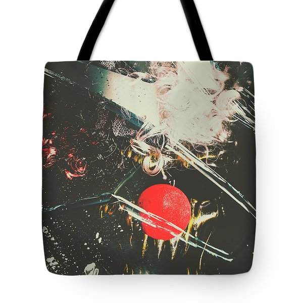 Horror House Of Mirror Tote Bag