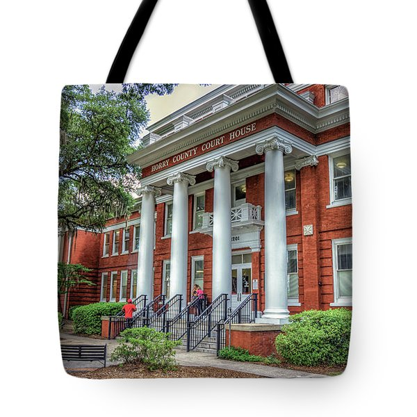 Horry County Court House Tote Bag