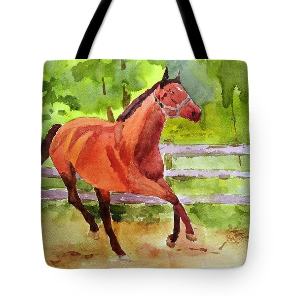 Horse #3 Tote Bag by Larry Hamilton