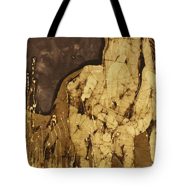 Horse Above Stones Tote Bag