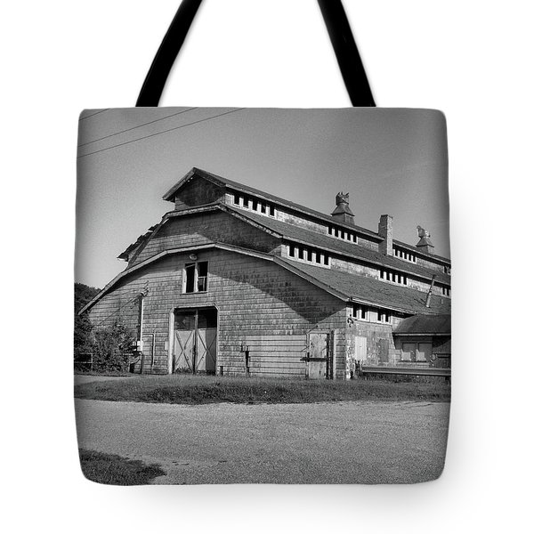 Horse Barn Exited Tote Bag