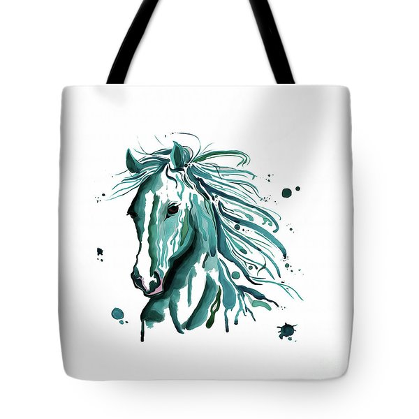 Horse Canvas Art  Tote Bag