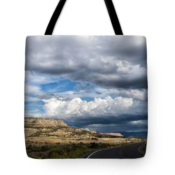 Horse Canyon By De Beque Colorado Tote Bag