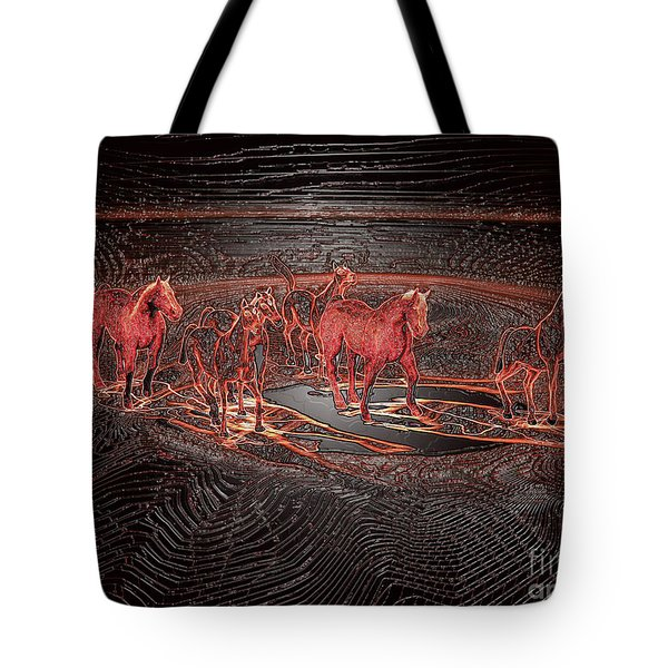 Horse Chestnut Pass Tote Bag