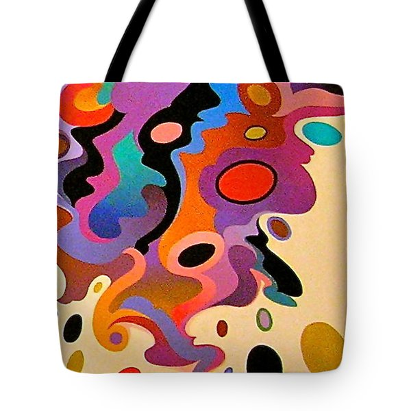 Horse Color Study Tote Bag