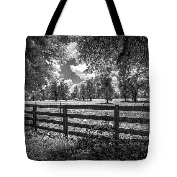 Tote Bag featuring the photograph Horse Country by Louis Ferreira
