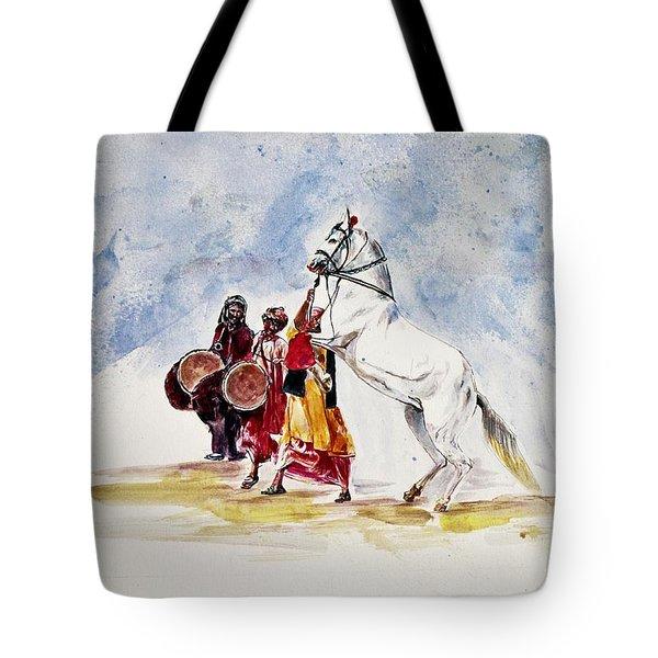 Horse Dance Tote Bag