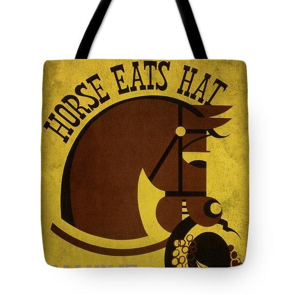 Horse Eats Hat - Maxine Elliot's Theatre - Vintage Poster Vintagelized Tote Bag