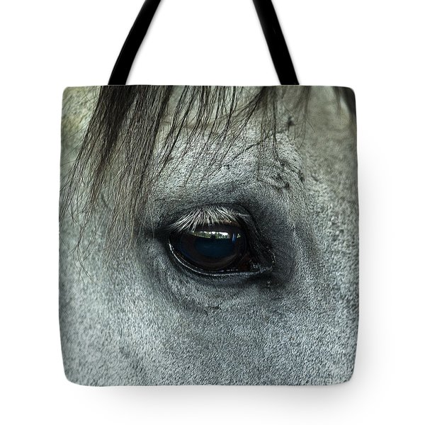 Horse Eye Tote Bag by John Greim