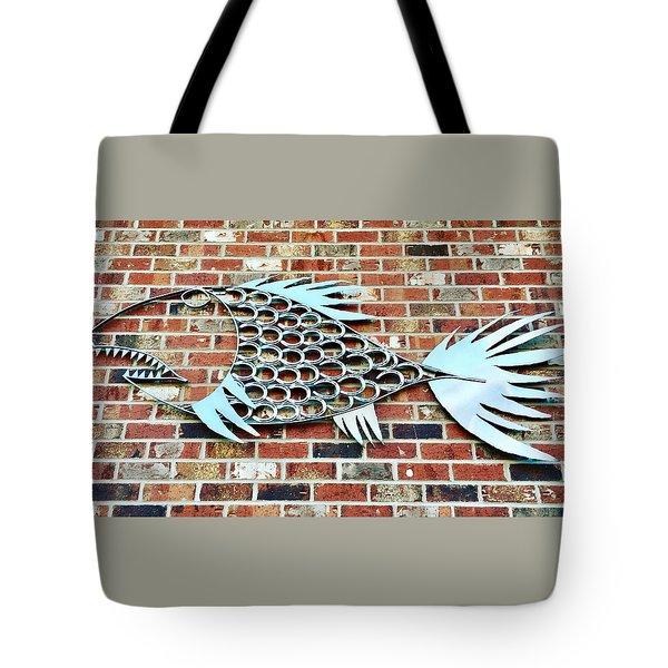 Fish Shoe  Tote Bag