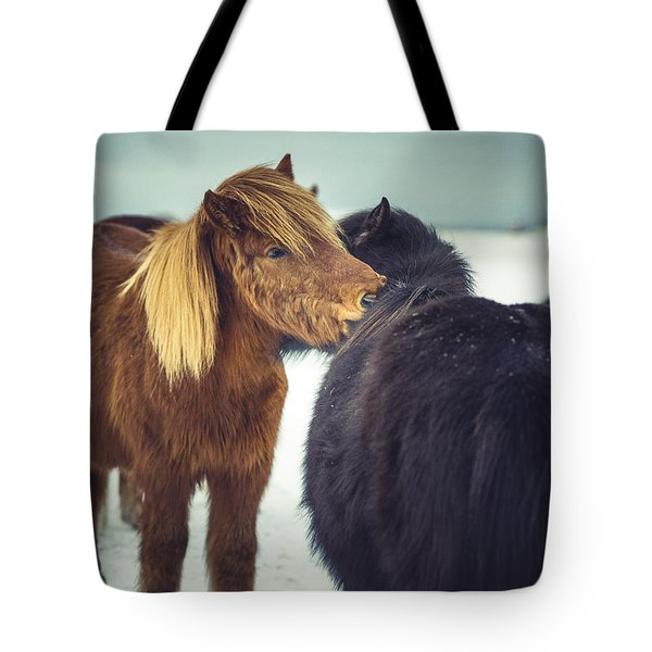 Horse Friends Forever Tote Bag