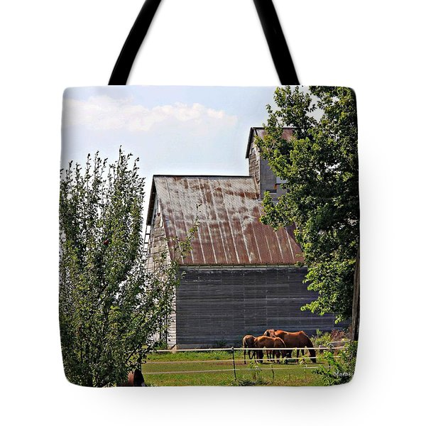 Horse Haven Tote Bag