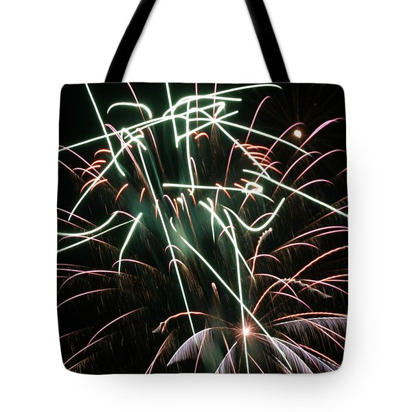 Horse Head In The Sky Tote Bag