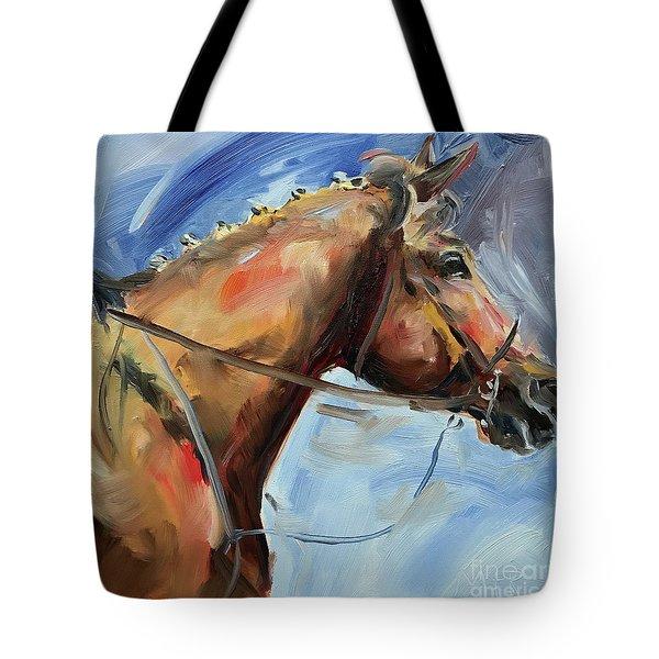 Horse Head Study Tote Bag