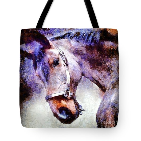 Horse I Will Follow You Tote Bag