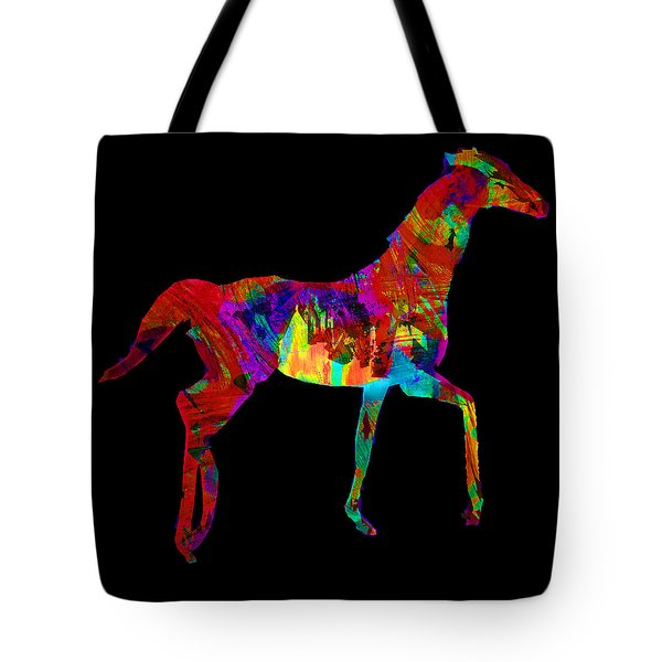 Horse Tote Bag by James Bethanis