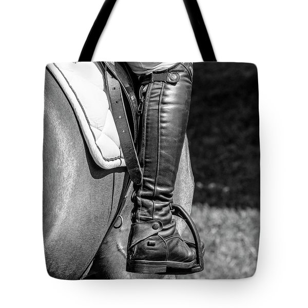Tote Bag featuring the photograph Horse Jumping 2 by Roy McPeak