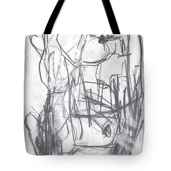 Horse Kiss Tote Bag