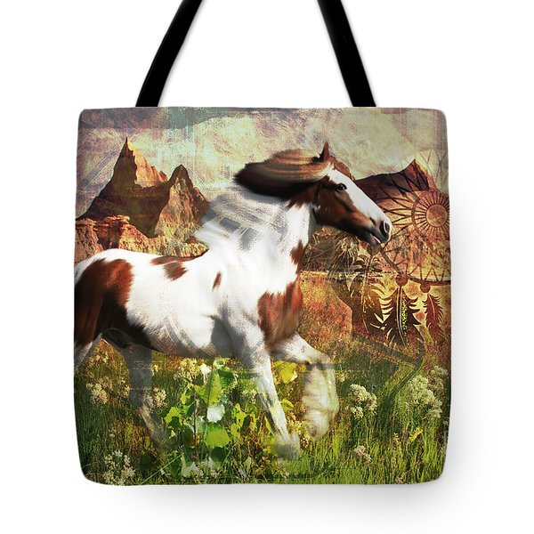 Horse Medicine 2015 Tote Bag
