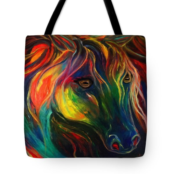 Horse Of Hope Tote Bag