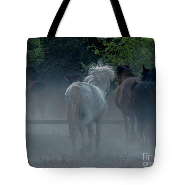 Horse 8 Tote Bag