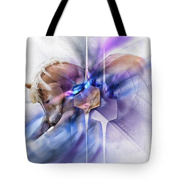 Horse Prayer Tote Bag