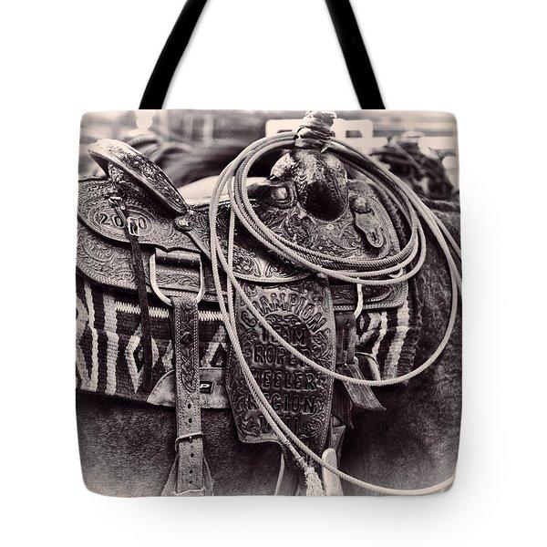 Horse Saddle Tote Bag