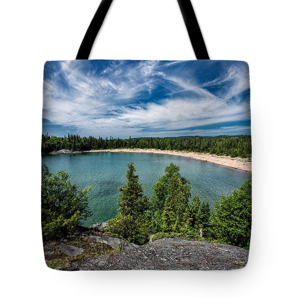 Horse Shoe Bay Tote Bag