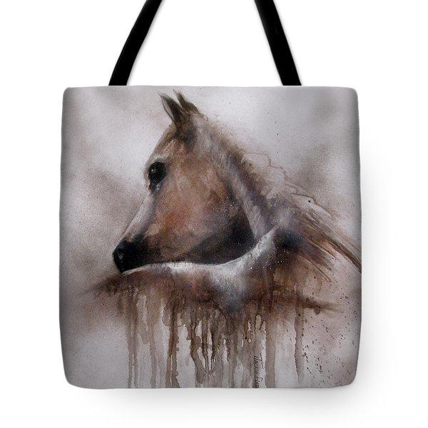 Horse Shy Tote Bag