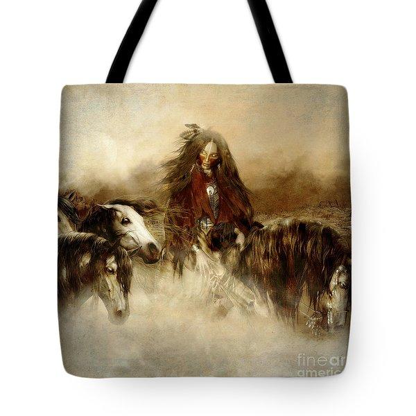 Horse Spirit Guides Tote Bag