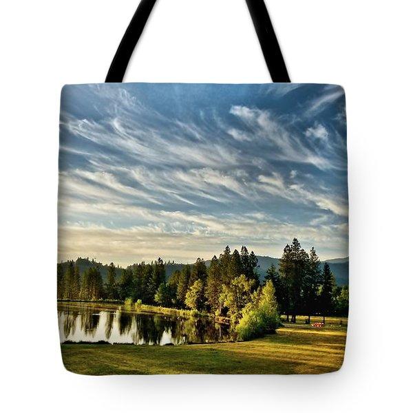 Horse Tail Heaven Tote Bag