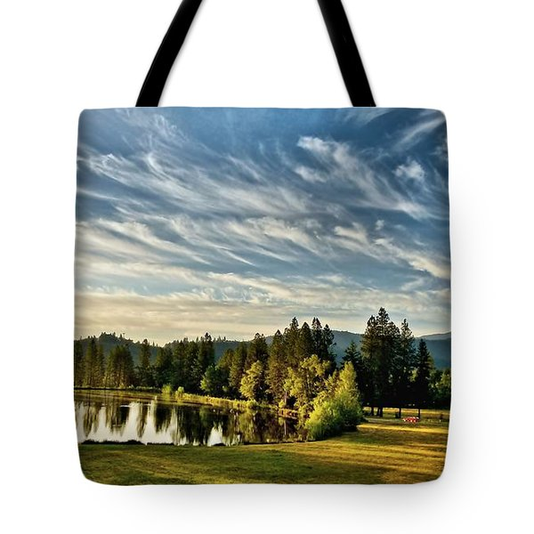 Horse Tail Heaven Tote Bag