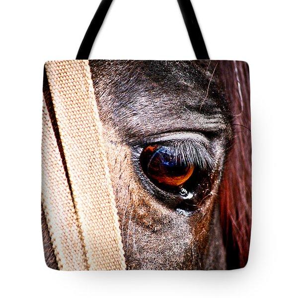 Horse Tears Tote Bag