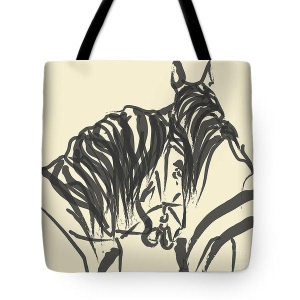 Horse - Together 9 Tote Bag