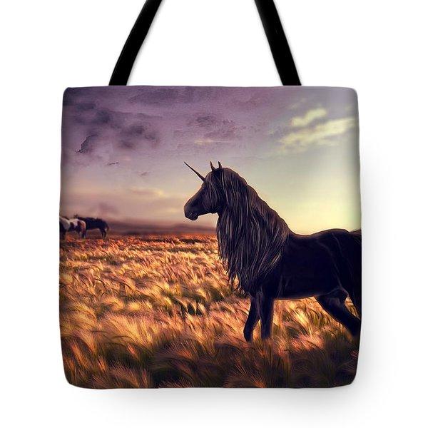 Horse Unicorn Golf Art Grass Wind 96812 3888x2592 Tote Bag