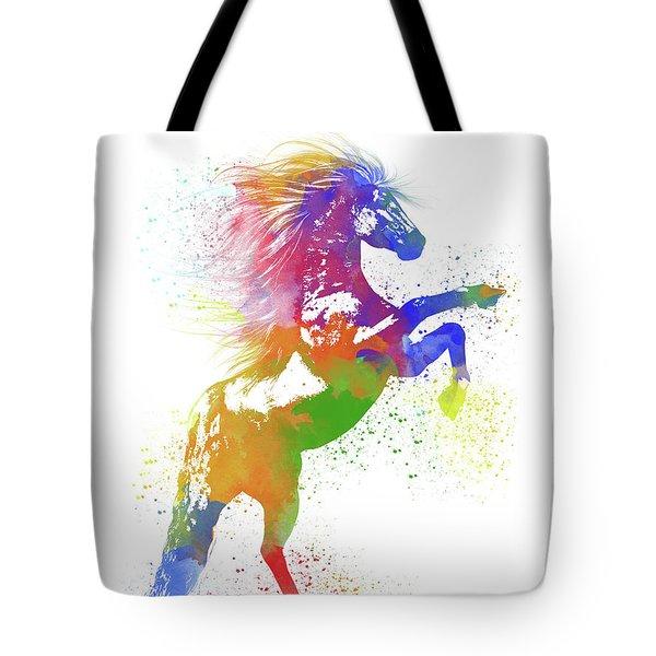 Horse Watercolor 1 Tote Bag