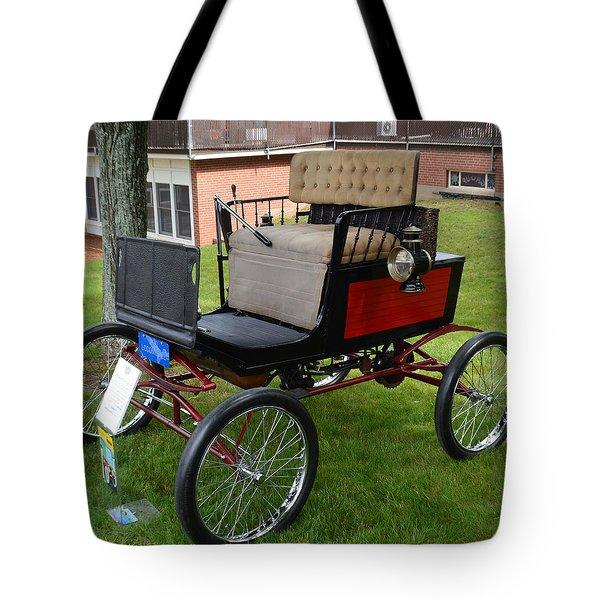 Horseless Carriage-c Tote Bag
