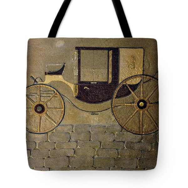 Horseless Carriage Tote Bag