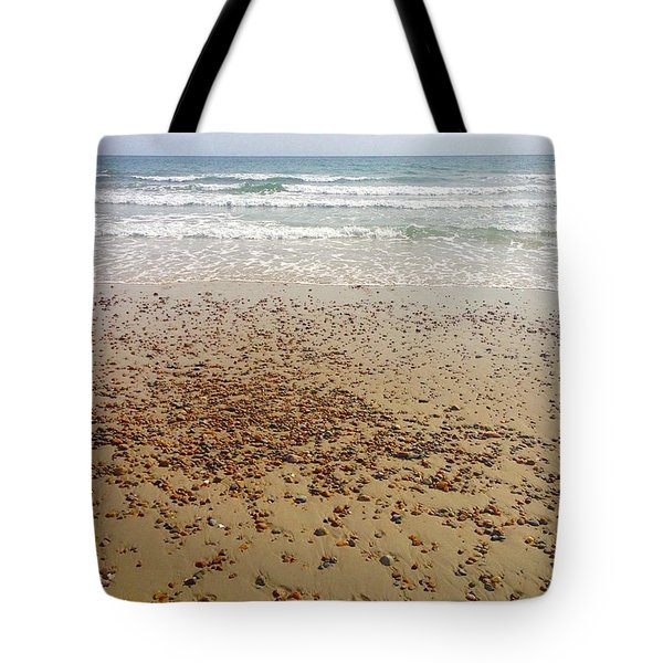 A Rocky Shoreline  Tote Bag